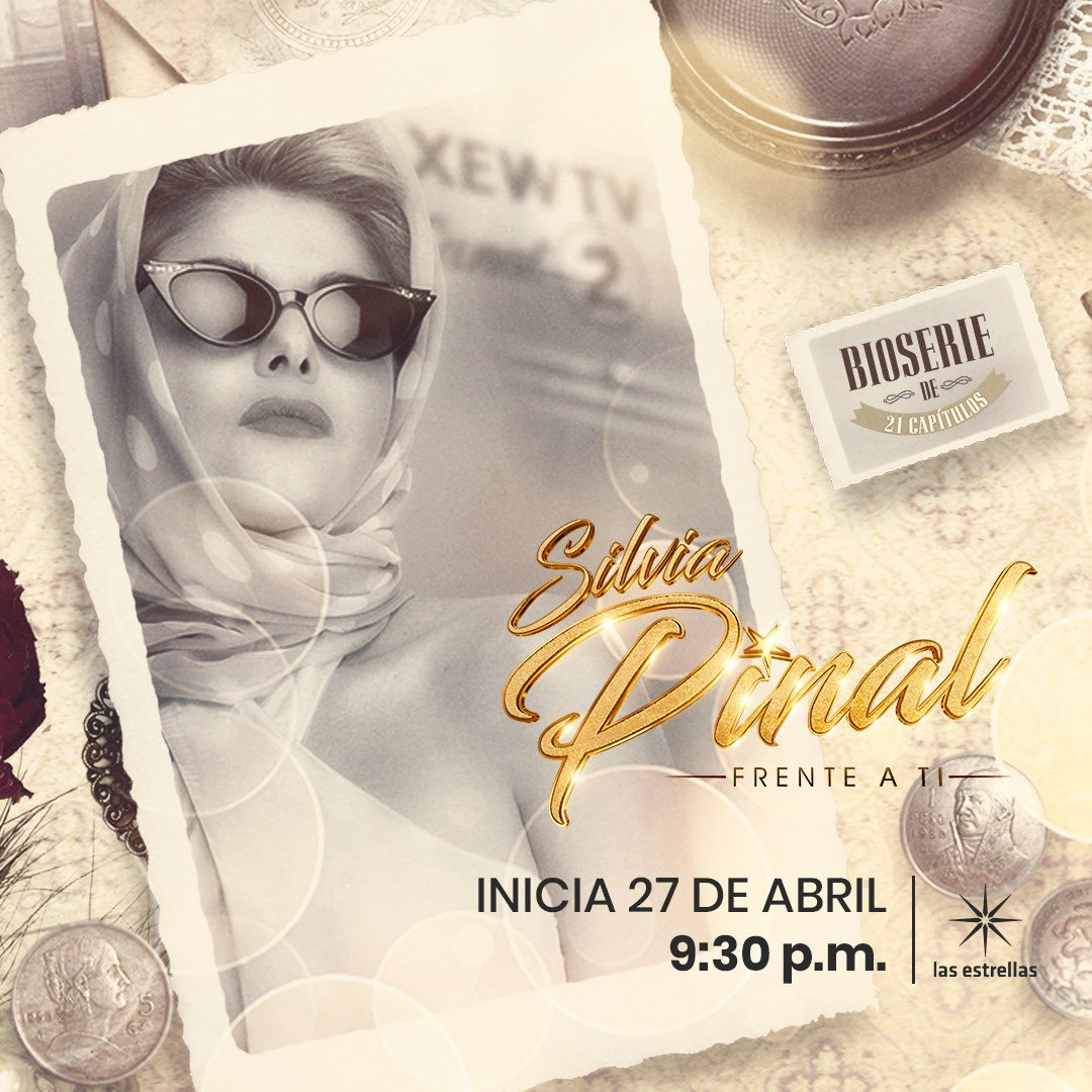 3 días para el reestreno de @SilviaBioSerie por @Canal_Estrellas  lunes 27 de abril 9:30 P.M. están listos ?? https://t.co/hi1ejhGKzE