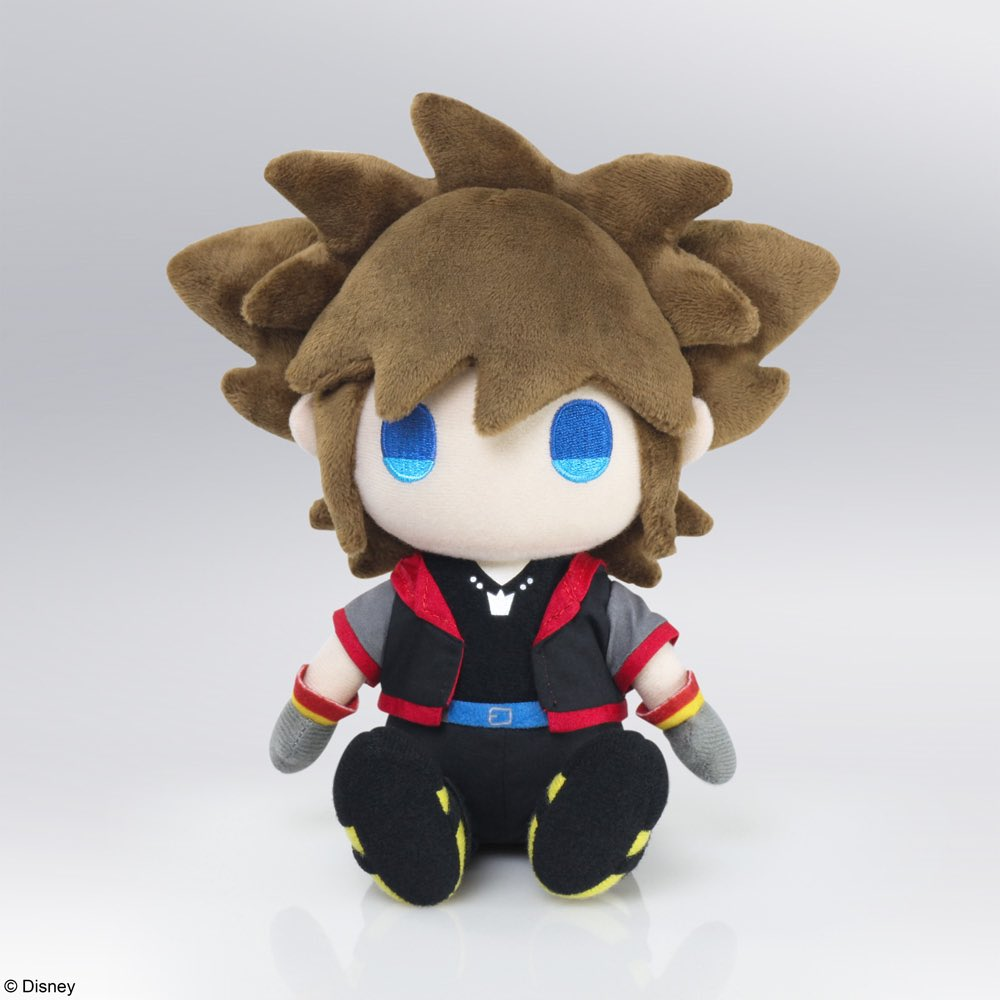 Were excited to announce KINGDOM HEARTS Plush Sora & Kairi! Both are in an amazingly cute style & wearing their KINGDOM HEARTS III outfits! Pre-Order by 5/4 for 10% off. #KingdomHearts #SquareEnix  Sora: https://t.co/x8zqYq8aue  Kairi: https://t.co/fZCS35UTbg https://t.co/nAkVdbe5CG