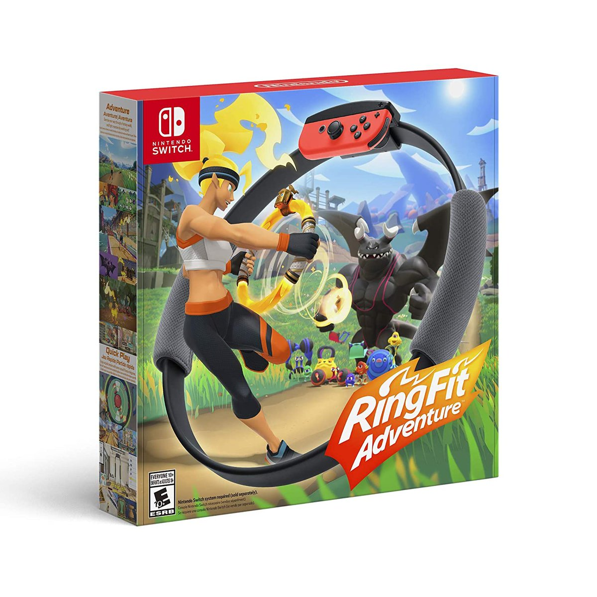 10:509871 Just saw this on Amazon: Ring Fit Adventure - Nintendo Switch by Nintendo of America for $278.95 https://amzn.to/354dz8F   @amazonさんからpic.twitter.com/OcKLMVa01t
