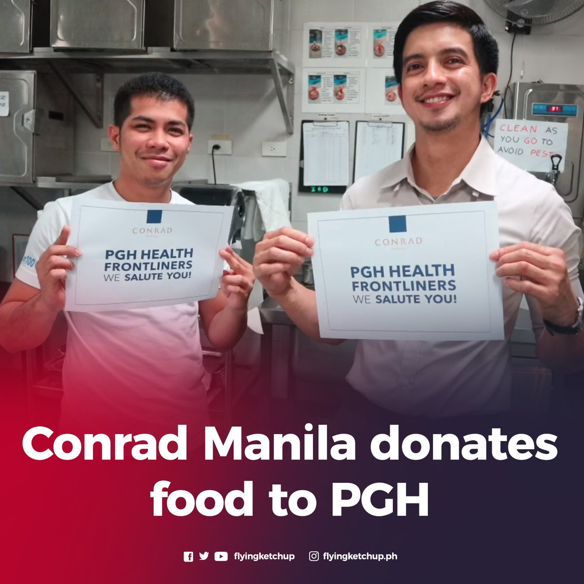 Aside from its frontliners and hotel team members, Conrad Manila's weekly donation has also supported other frontliners within the Mall of Asia complex. https://t.co/Nnbkk80r1c #Covid19PH https://t.co/aeXJwUHaln