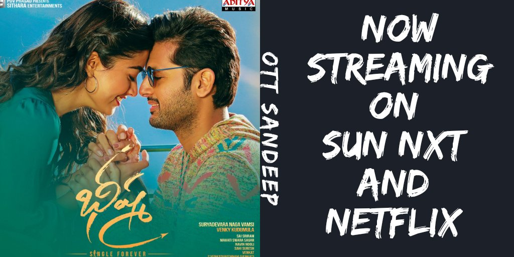 Sandeep Ott Updates On Twitter Follow Ottsandeep For Exclusive Streaming Updates Bheeshma Is Now Streaming On Sun Nxt And Netflix India Imdb 7 1 Streaming Links Sunnxt Https T Co J1ufgioup8 Netflix Https T Co 12ppdayc5b Language Telugu