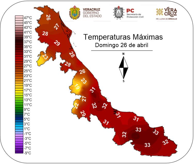Clima en Veracruz tendrá un ligero refrescamiento este fin de semana