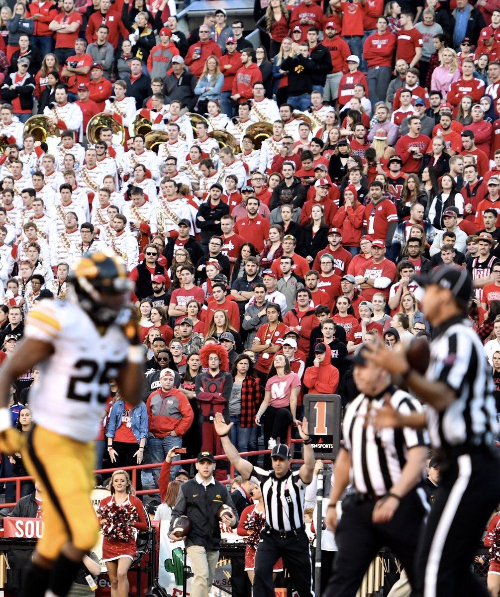 What it looks like watching the NFL draft in the state of Nebraska. https://t.co/RH4bpXdhzT