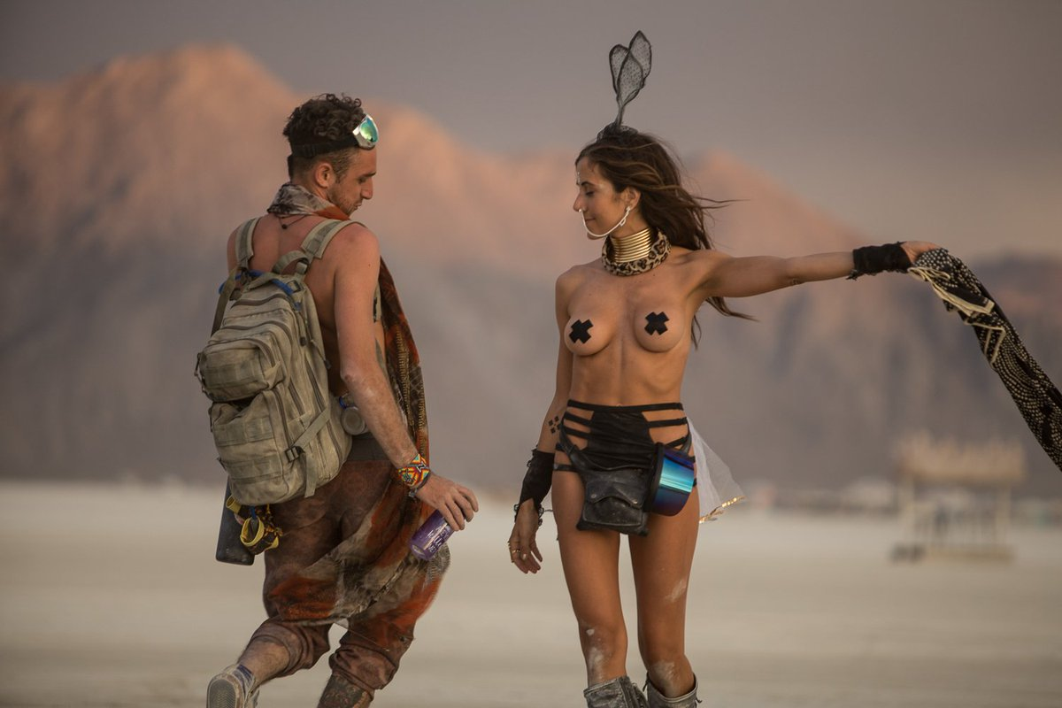 Elon Musk Is Right, Burning Man Is Silicon Valley