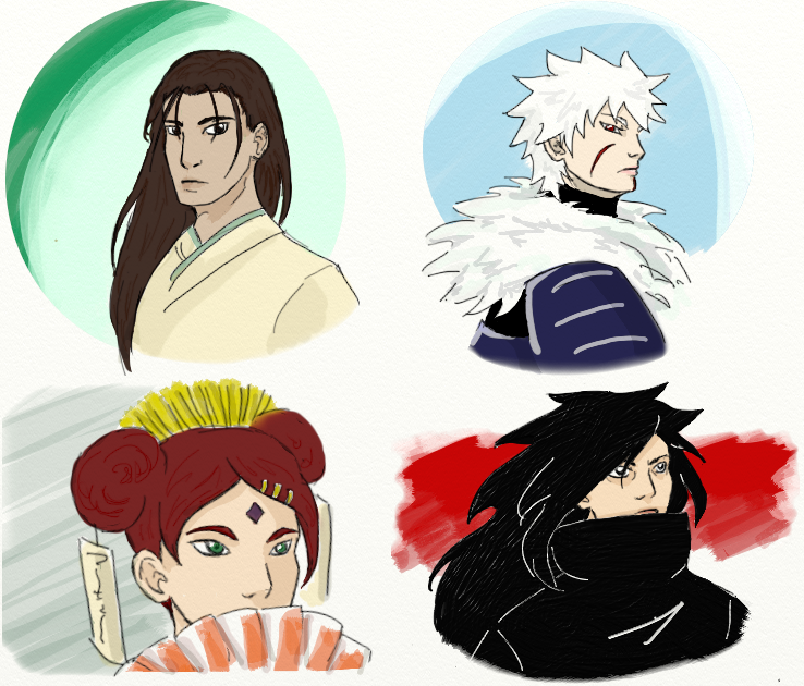 Collection Of Tobirama Centric Fanart Chapter 10 Alasse M Naruto Archive Of Our Own
