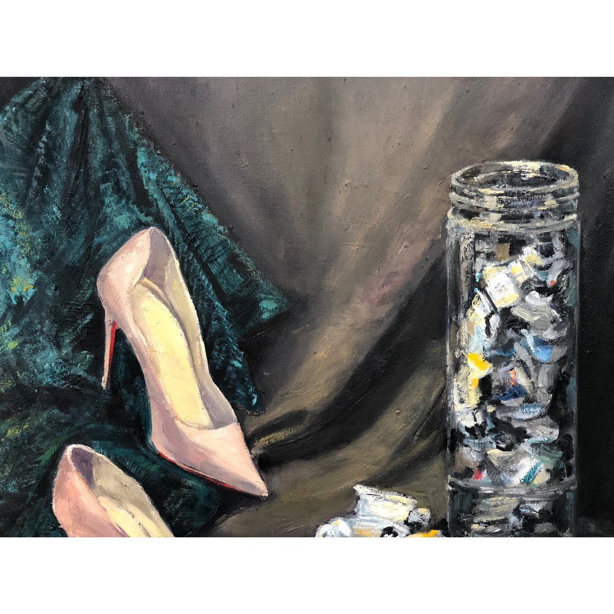 After finished, here you are a part of my artwork. #guarchart #guarch #art #artist #art_realism_ #artwork #artistsoninstagram #gallery #galleryart #supportartists #oilart #paintingeveryday #passionart #creativityeveryday #stilllifepainting #bcnart #artsales #thestrokes #brushespic.twitter.com/cCmLxQlNTt