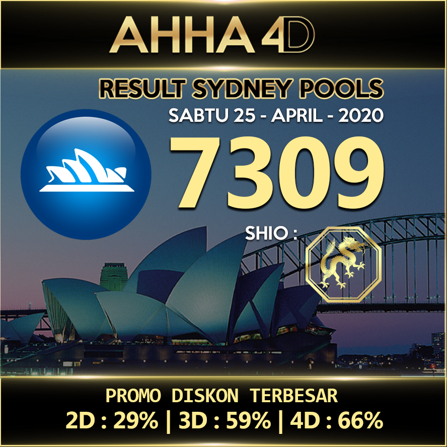 Ahha4d On Twitter Result Sydney 25 April 2020 Ahha4d Sah 7309