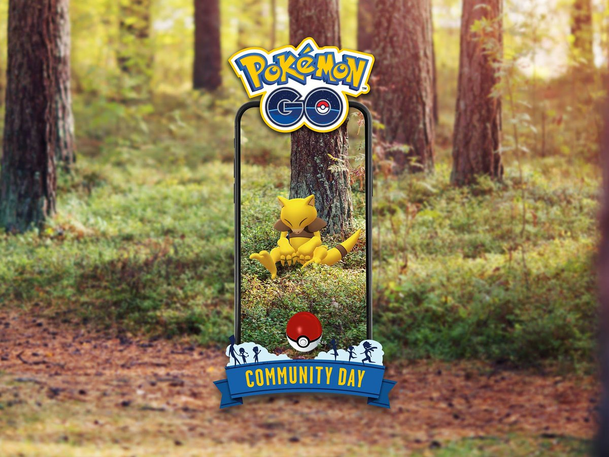 #PokemonGOCommunityDay