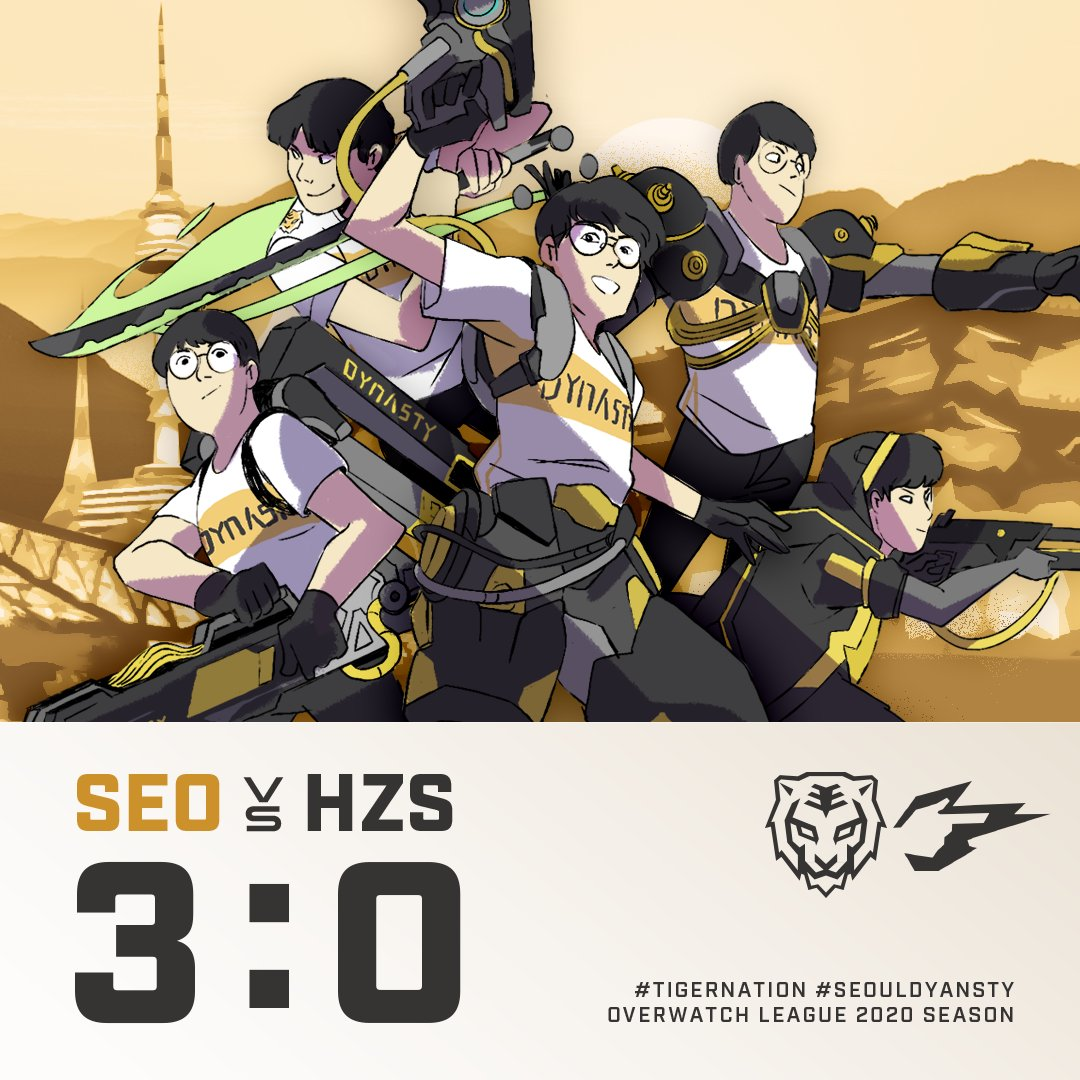 Clean sweep 3:0 WIN!  We're not the same team anymore GGs @Hangzhou_Spark ! And @ShanghaiDragons , you are next  #OWL2020  #Week12 #TigerNation <br>http://pic.twitter.com/ZcNCuPVVuV