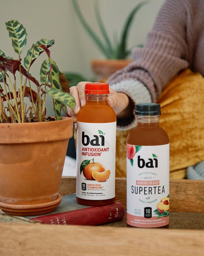 Rise and shine with the bold flavor of Bai. #FlavorLife #Morning
