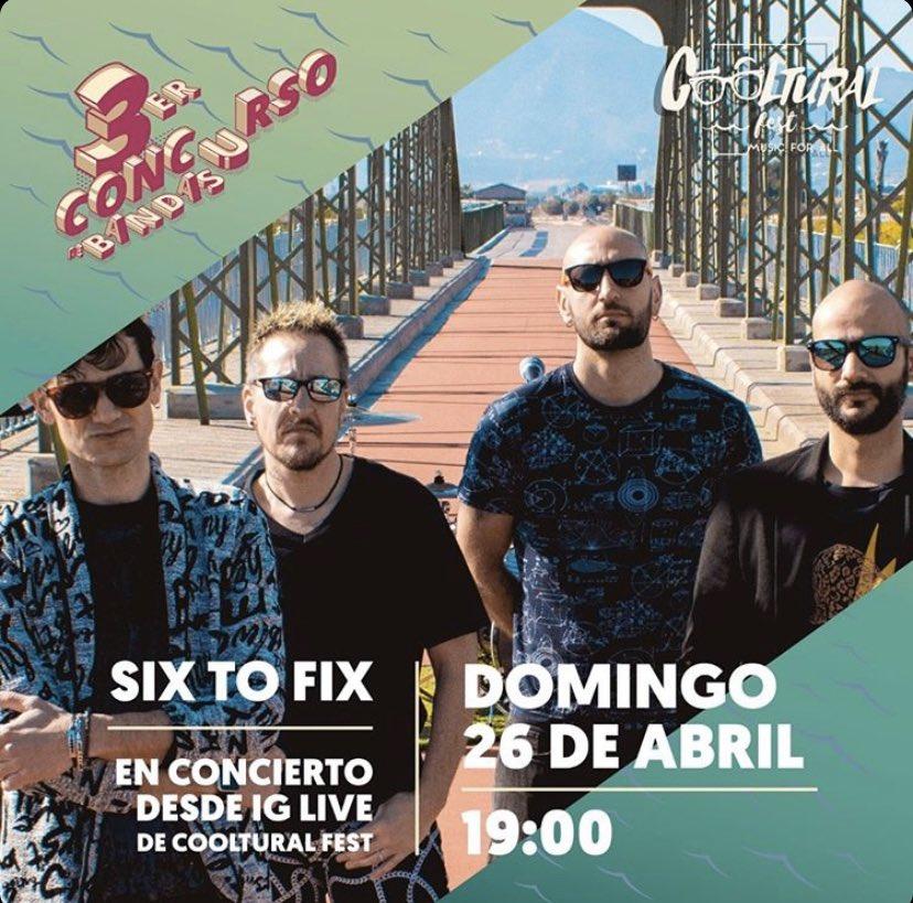 Tomorrow - Mañana 19:00 tocaremos algo, Live at home. En el instagram de @coolturalfest #live #concierto #yomequedoencasa #stayhome #indierock #acustico #acousticpic.twitter.com/HX2Ez0cCh2