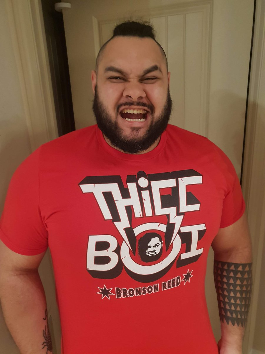 Bronson Reed On Twitter Buy My T Shirt Show Your Thicc Support