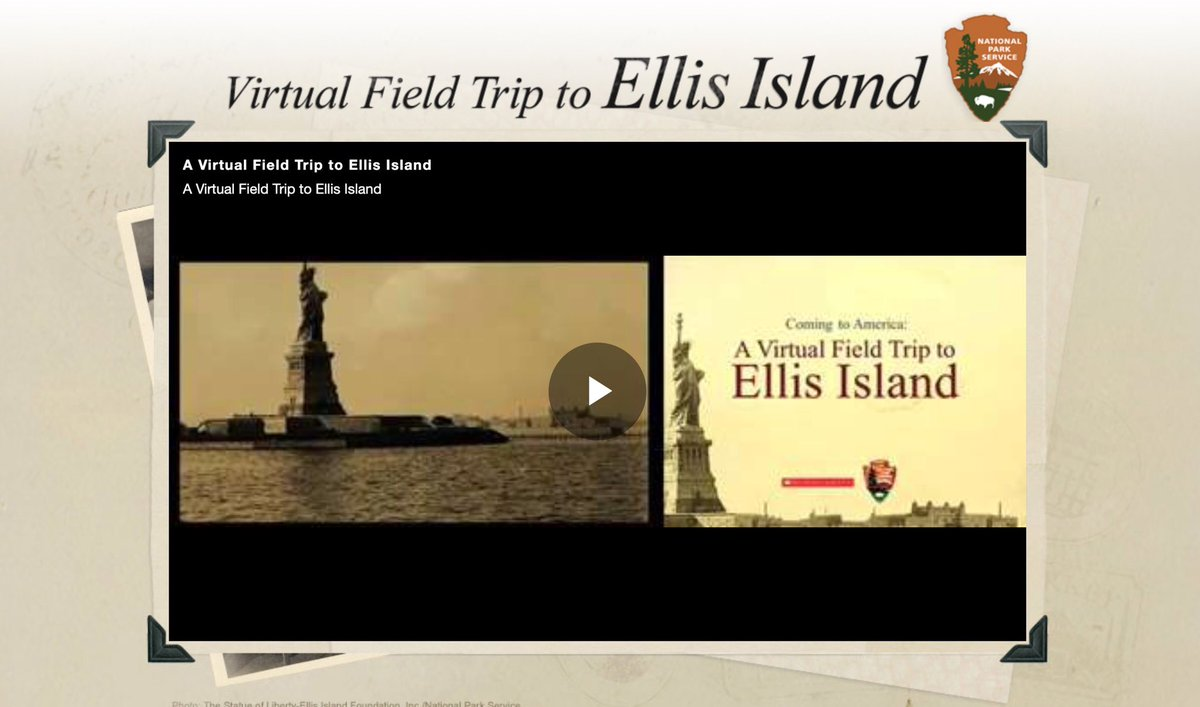 All aboard the virtual field trip to Ellis Island! Check it out here: https://t.co/IEW0fpWNPm https://t.co/KnegmBHNm6