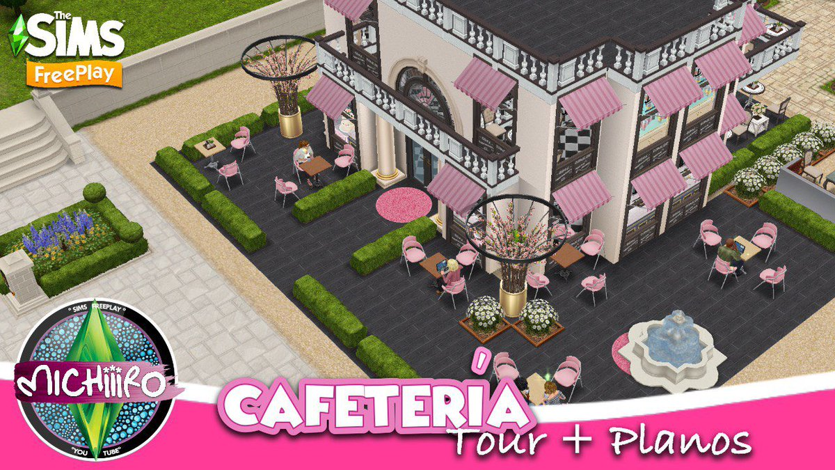 #TheSimsFreeplay Cafeteria Chic Francesa youtu.be/KHDZqNUvvdc