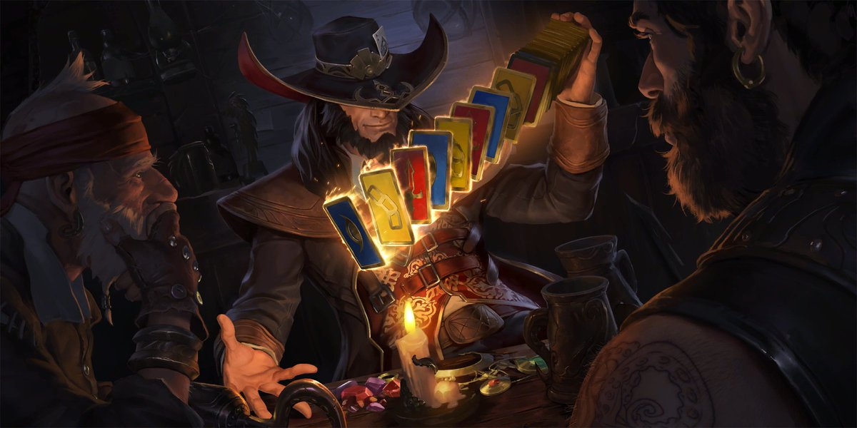 """Legends of Runeterra on Twitter: """"Twisted Fate, The Card Master… """""""