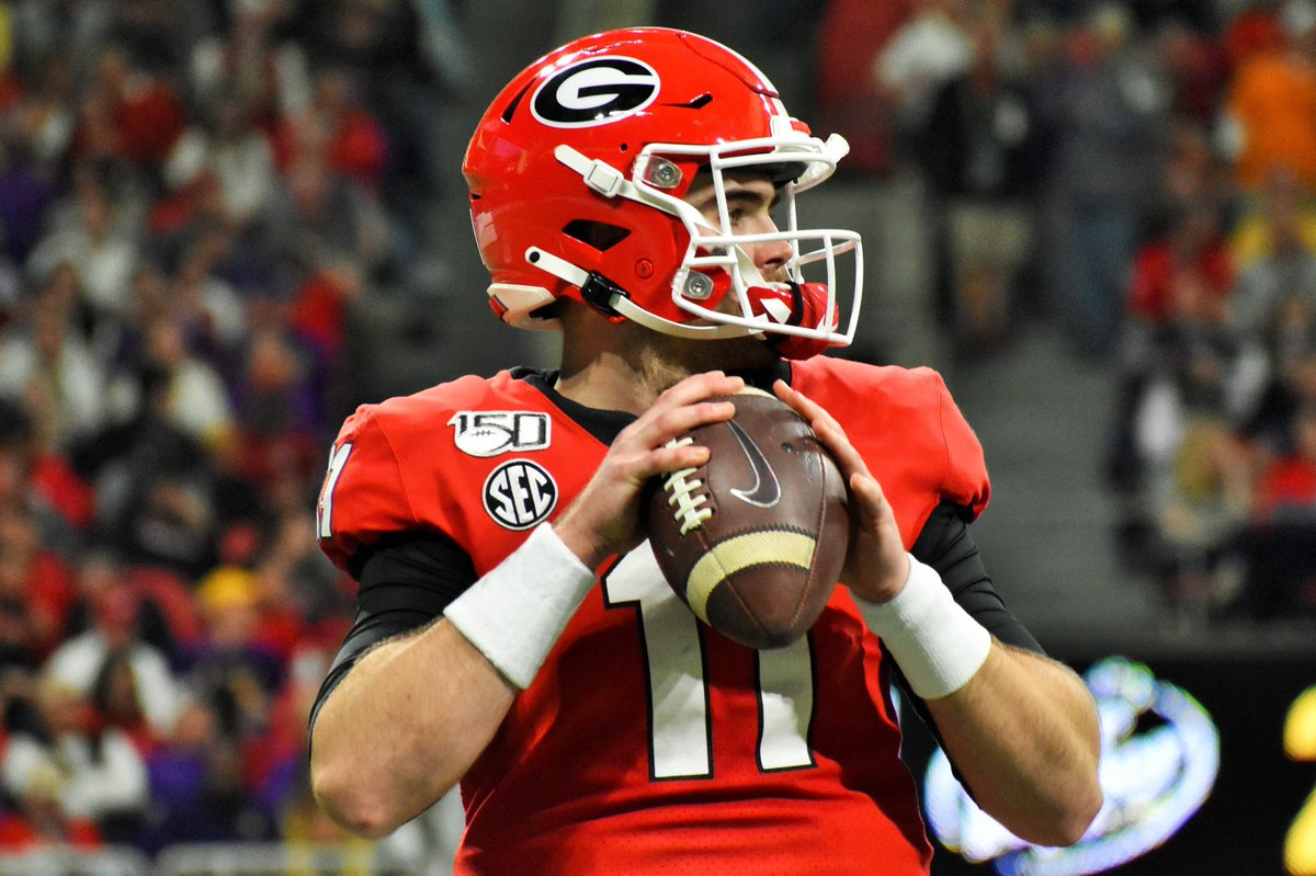 Jake Fromm at UGA  - Beat Florida 3 times - Beat Auburn 3 times - Beat Tennessee 3 times - Beat Georgia Tech 3 times - Beat Notre Dame 2 times   - SEC Champion  - Rose Bowl Champion - Sugar Bowl Champion         —— Damn Good Dawg ——  Treat him well, Buffalo fans.