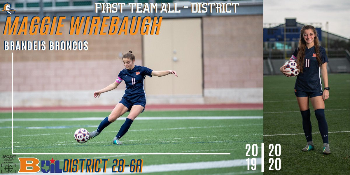 Congratulations to 1st Team All-District selection, Maggie Wirebaugh! #RepTheB 📸| @arshots