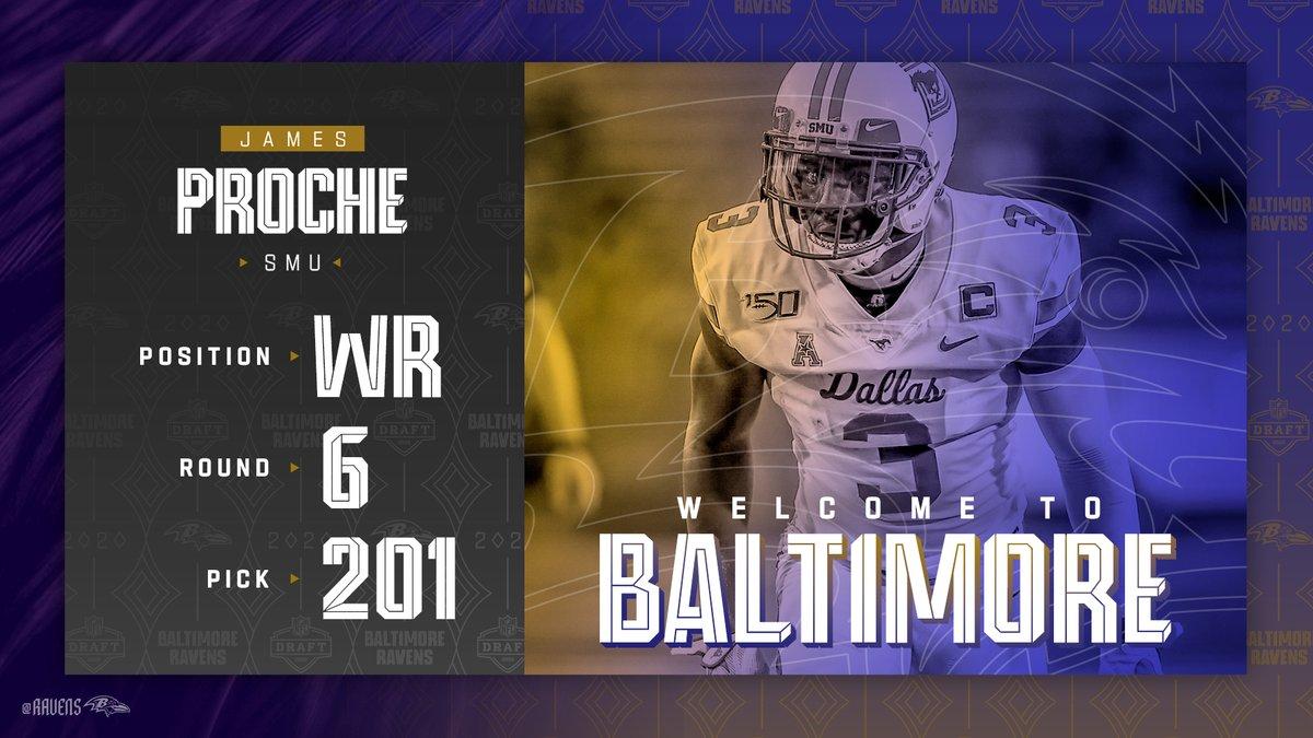 Welcome to Baltimore, @jamesproche3 ❗️❗️ https://t.co/uN3pqvz0Wl