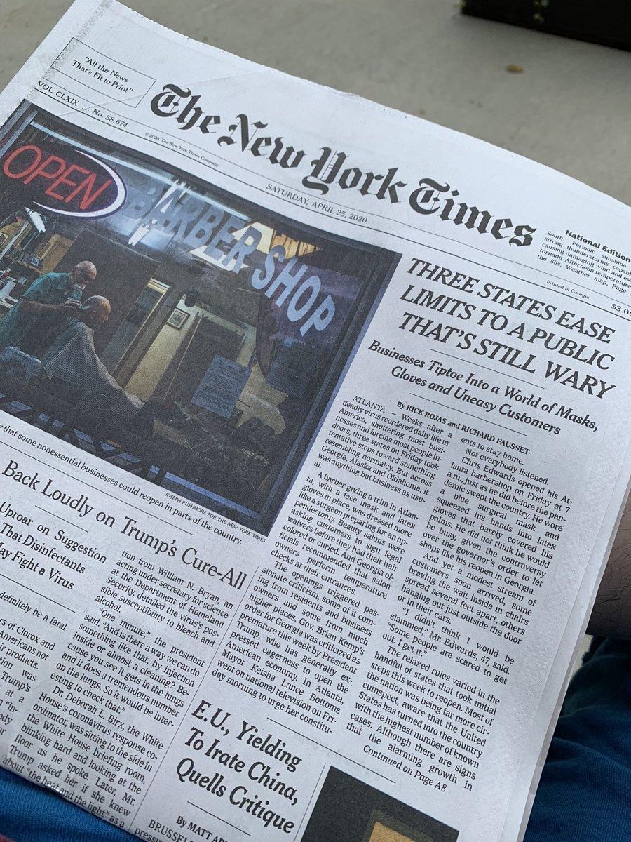An Atlanta bureau production leading the paper nytimes.com/2020/04/24/us/…