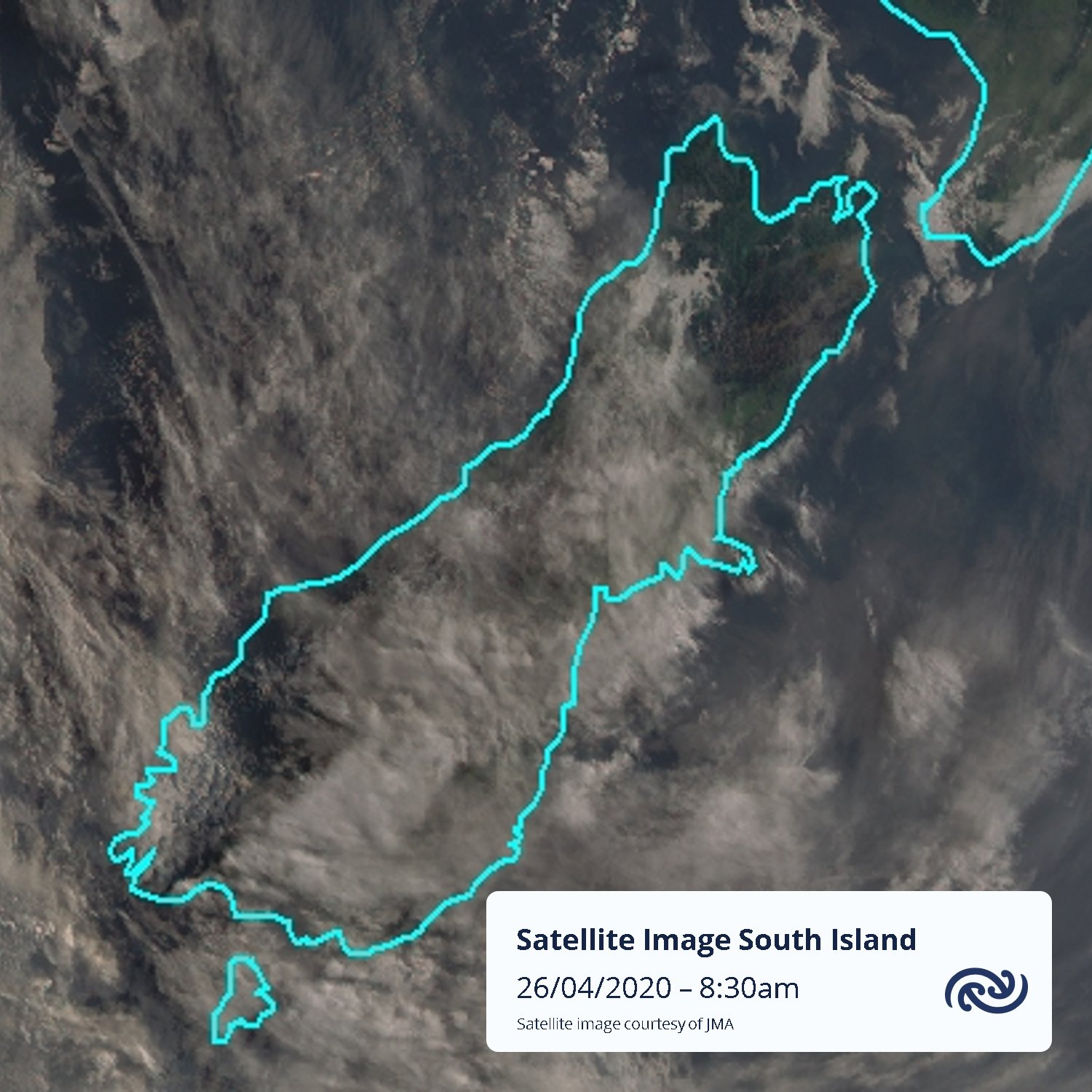 High cloud will be the theme of the day for the South Island, with parts of Canterbury, Otago and Southland getting thicker wave cloud later today as strong northwesterlies push over the Southern Alps. Check out bit.ly/metservicenz for more details ^MM https://t.co/vXdnN8ihJx