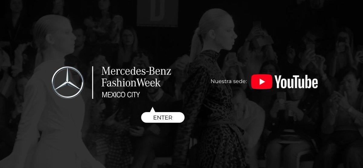 ¿Listos para el segundo día de Mercedes-Benz Fashion Week Mexico City?  **No te pierdas lo mejor de la moda mexicana y los talentos detrás de cada colección en https://t.co/gg9WwBmMfe  #MBFWWMx https://t.co/h4ACEeOLhI