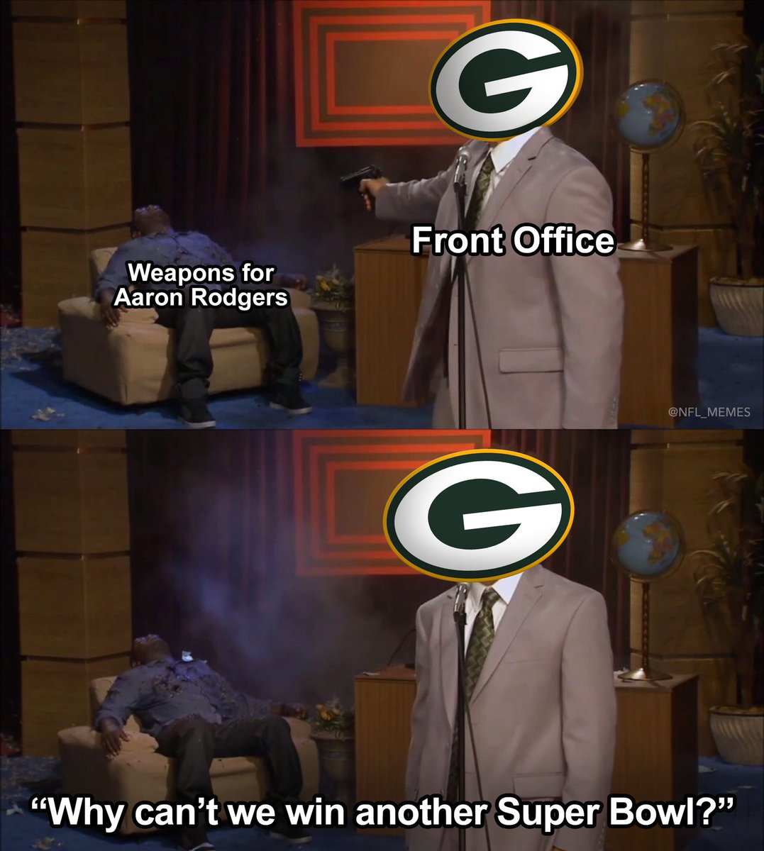 Nfl Memes On Twitter Packers Logic
