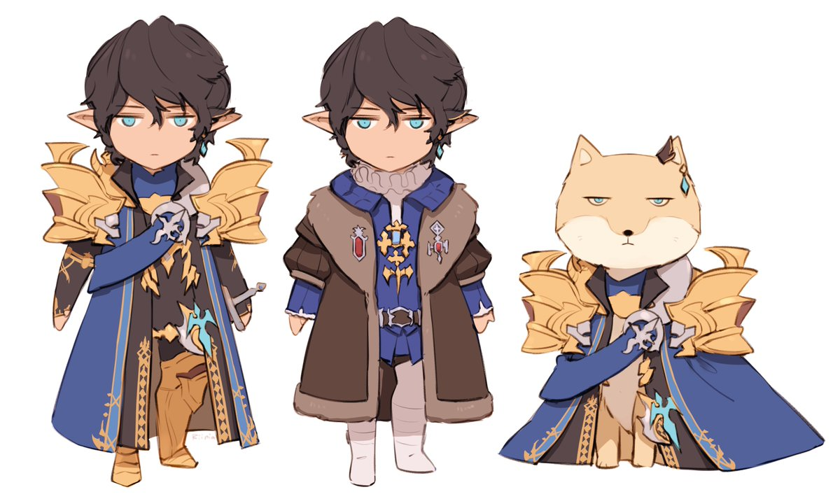 Wind-up Aymeric / Dress-up Aymeric / Brave new Aymeric