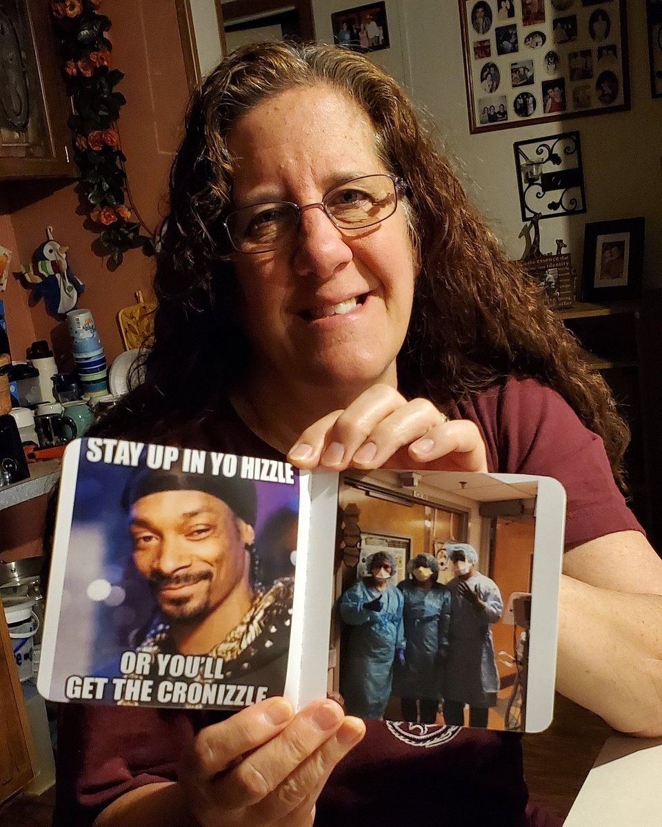 My mama loves @SnoopDogg so much she put a meme of him in her little photo book beside her friends from work picture. She also made me retake this photo a couple times to make sure she looked good in case he sees it #snoopdogg #coronavirus #shesprecious #snoopdoggmeme pic.twitter.com/cSKPcgwL5b