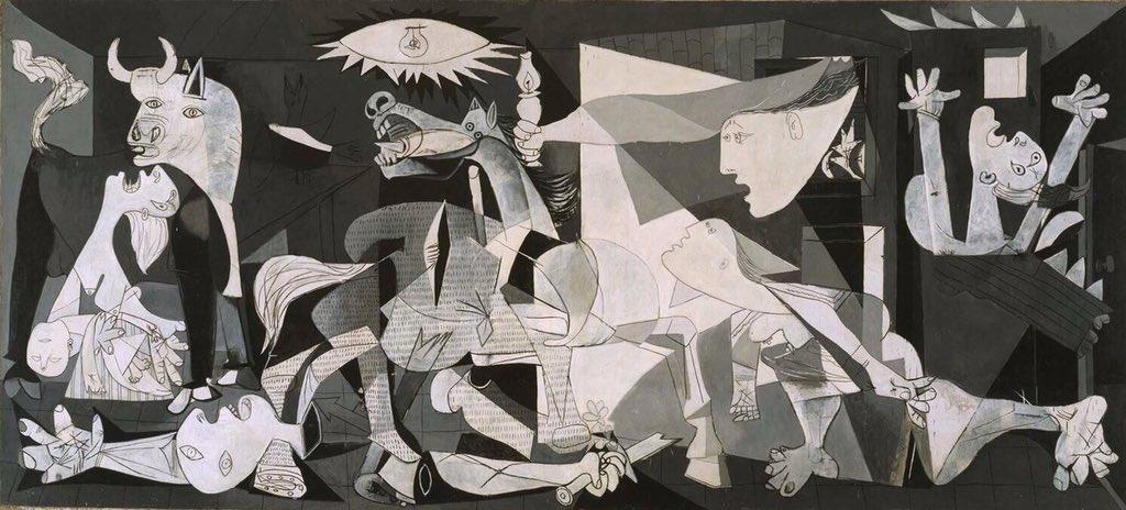 Guernica 26/04/1937. Pour ne jamais oublier. Gernika 1937ko apirilaren 26a. Inoiz ez ahantzeko.  #Guernica #PaysBasque #Euskalherri https://t.co/P3ZwOlxBs7