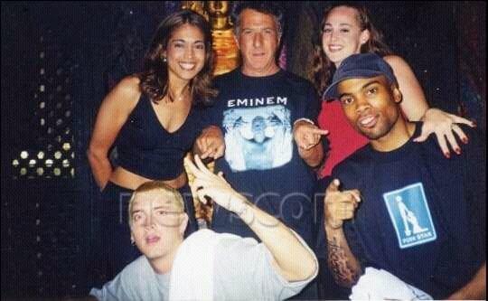 Girlfriend eminem Eminem Discusses