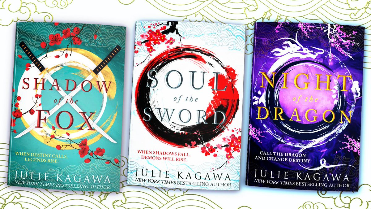 """Dr Aislinn O'Connell on Twitter: """"I finished this trilogy last night.  Intensely satisfying. Swoony romance. High stakes drama! Japanese  mythological creatures to beat the band! And a main character who's just so"""