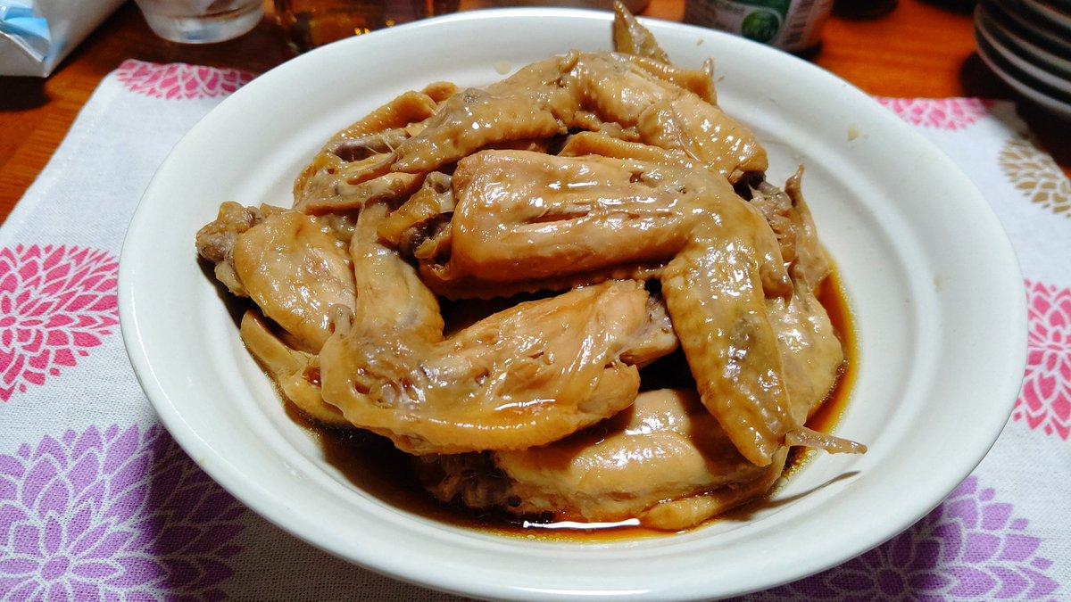 味 煮 ぽん 鶏肉 さっぱり の