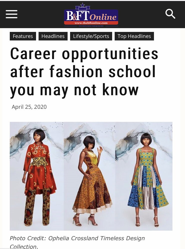 Joyce Ababio College Of Creative Design On Twitter Photo Credit Our Alum Madam Ophelia Crossland Get To Read The Whole Article Here Https T Co Mn8tlc09sp