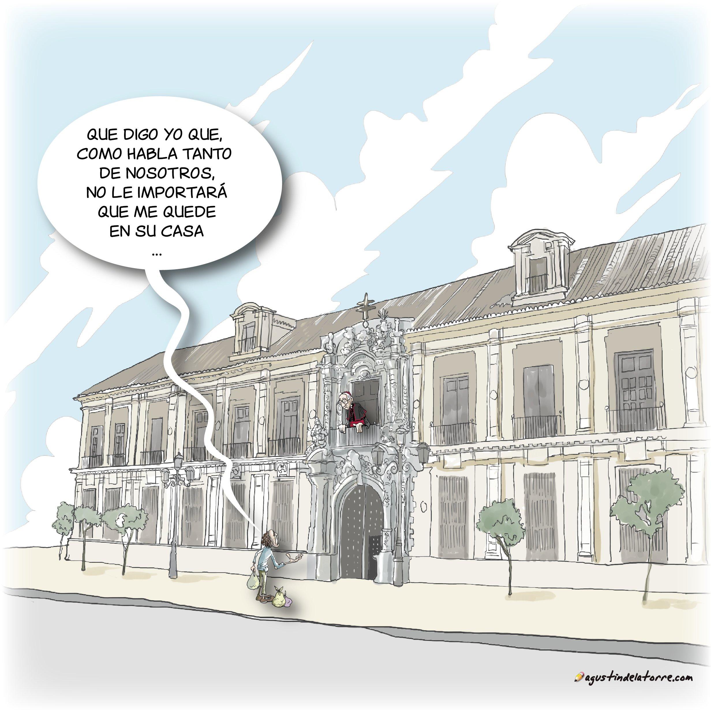 Palacio episcopal y pobre