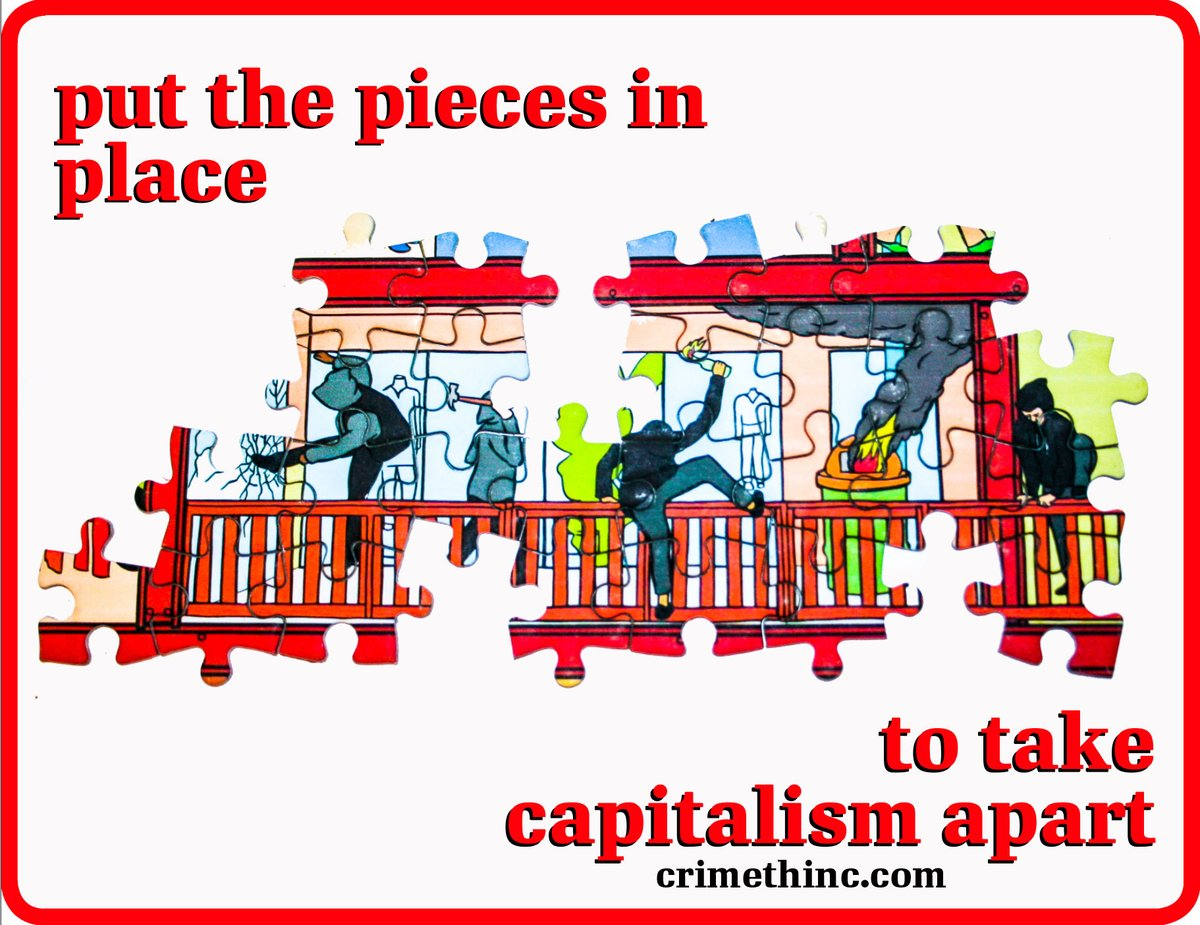 Still in lockdown? Lets use this time to prepare a new all-out offensive on capitalism. If you need a break, Amorphous Puzzles (amorphouspieces.bigcartel.com/product/capita…) have made a puzzle version of our poster capitalism is a pyramid scheme, available via PM Press (pmpress.org/index.php?l=pr…).