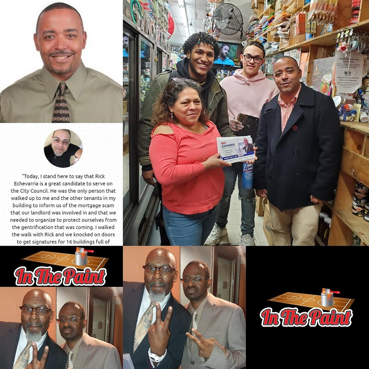If you missed the last #InThePaint with #RickEchevarría as our special guest who is running for office in #District37 of #Brooklyn please listen as he is a man of the people and working for the people! Click on the link below blogtalkradio.com/inthepaint/202…