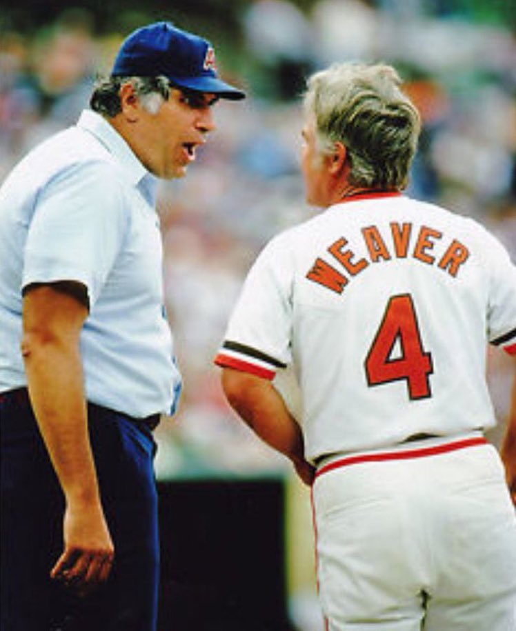 """Super 70s Sports on Twitter: """"In 1975, Ron Luciano ejected Earl Weaver from  both ends of a doubleheader.… """""""