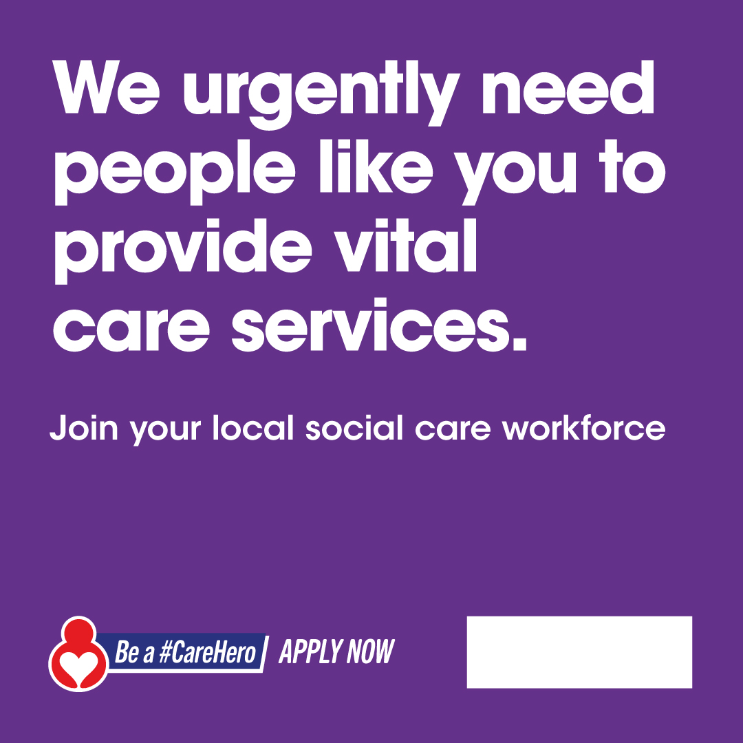 test Twitter Media - We have 100s of vital social care jobs to fill across the North West. In Halton we urgently need people like you to help provide vital care services in your local area. Apply now and be a #CareHero https://t.co/7jTm6lY899 https://t.co/jwcbJydugg