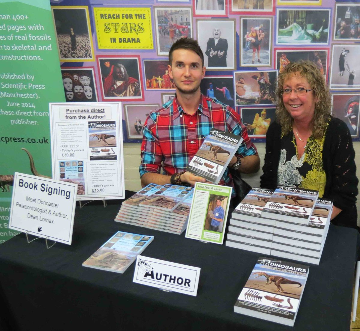 Mum came to as many of my events as she could, listening to my public lectures, helping to promote my books, even going fossil hunting and would race to tell all of her friends when I was on TV & Radio. She was excited to meet my palaeontology friends & hear of their adventures.