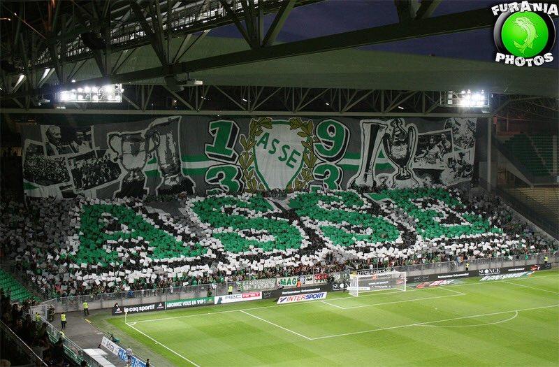 Quel stade est le plus bouillant❓🔥  RT pour Geoffroy Guichard 🔁 Fav pour le Groupama Stadium ♥️  @ASSEofficiel 🆚 @OL https://t.co/tbyLRxtC9G