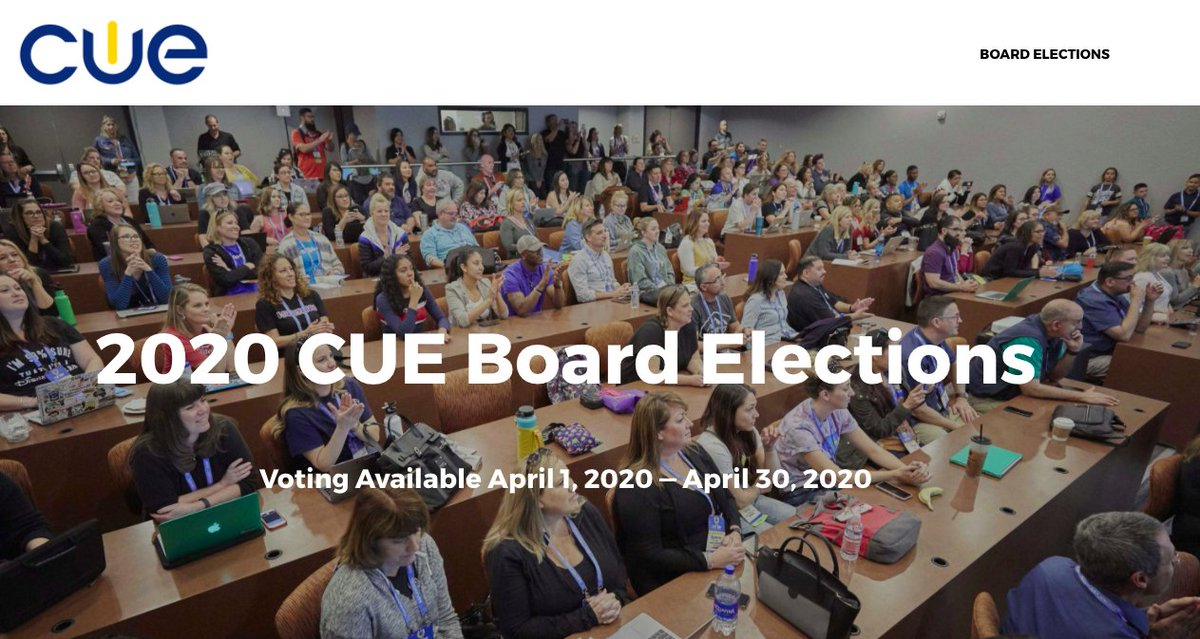Still have time to vote in the @cueinc board elections. Time is running out! #WeAreCUE @jcorippo @pgilders @CoachellaCUE @beachcitiescue @capcue @cvcue @IACUE @IV_CUE @GoldCoastCUE @kerncue @mbcue @NorthBayCUE @SanDiego_CUE @SGVCUE @SLOCUE @SBCUE