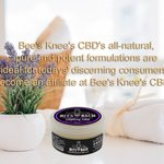 Bee's Knee's CBD's all-natural, pure and potent formulations are ideal for today's discerning consumers. Become an affiliate at Bee's Knee's CBD's. #hempoilextract #cbdoil #cannabidiols #cbdhelps https://t.co/iCG5ujIgsc