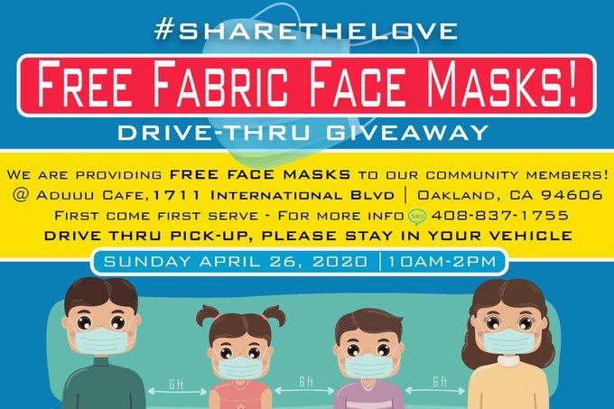 Face Mask Giveaway @ Abduu cafe