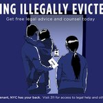 Image for the Tweet beginning: Free legal help is available