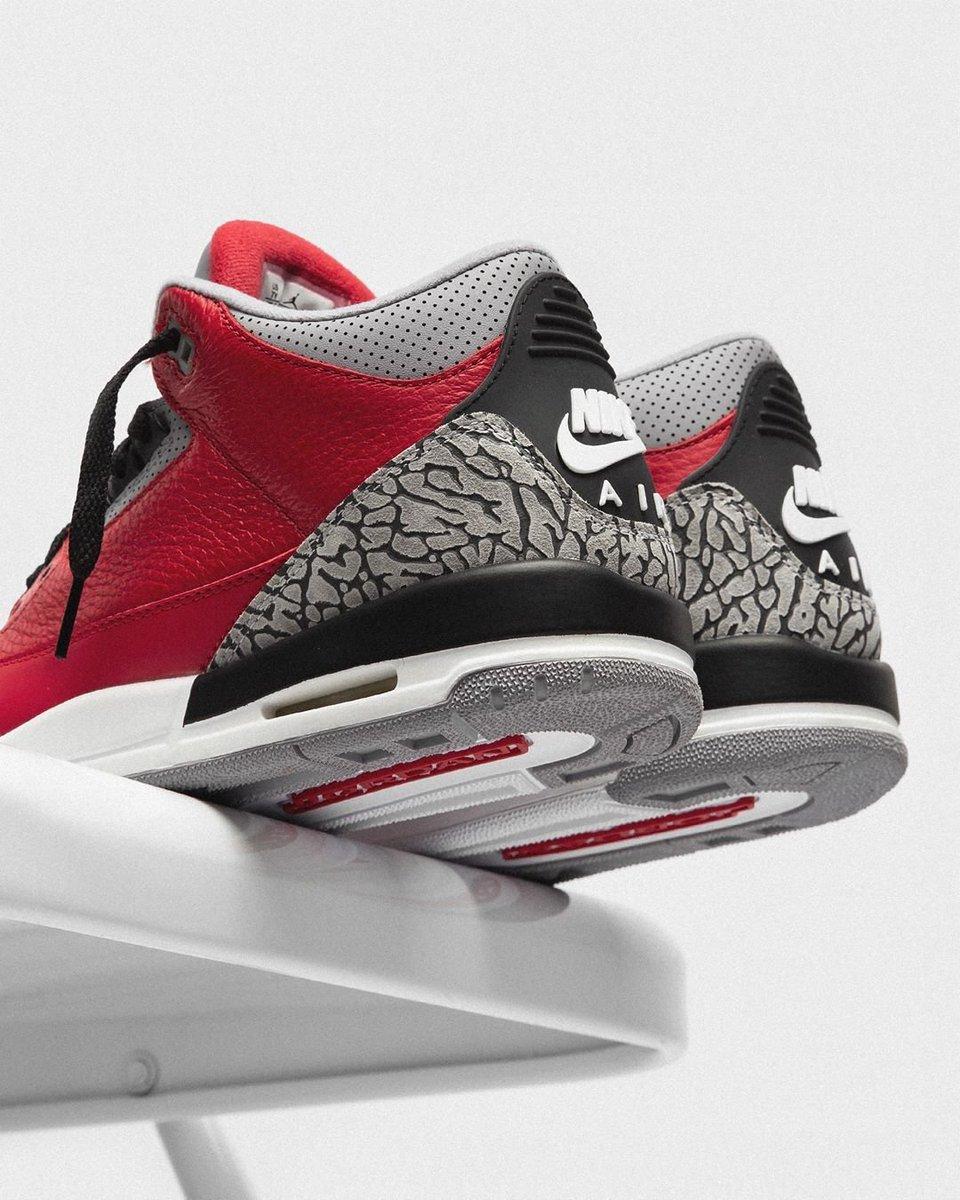 "Air Jordan 3 Retro ""Red Cement"