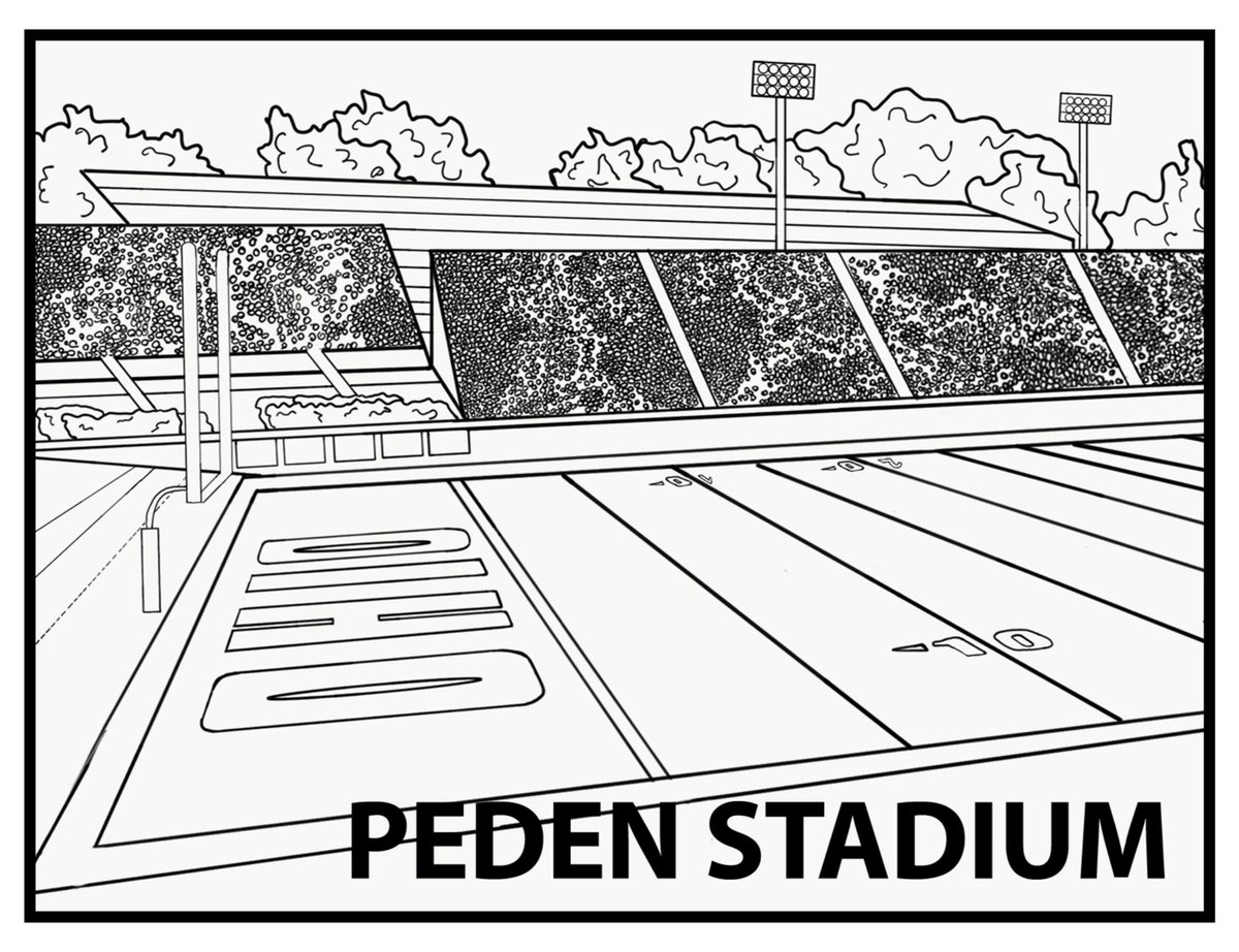 Take a break from studying for finals week with this coloring page of Penden Stadium! Download it here: https://t.co/59sU1a1Tgn https://t.co/2gygLUG2H2