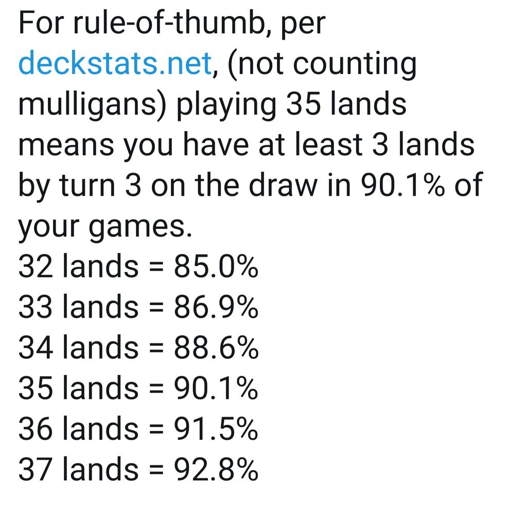 Saffron Olive On Twitter Quick Yorion Math If The 60 Card Build Of Your Deck Would Play 24 Lands You Ll Draw Lands Are Roughly The Same Rate In Your 80 Cards Deck Download cdc's free milestone tracker app to complete a milestone checklist for your child. build of your deck would play 24 lands