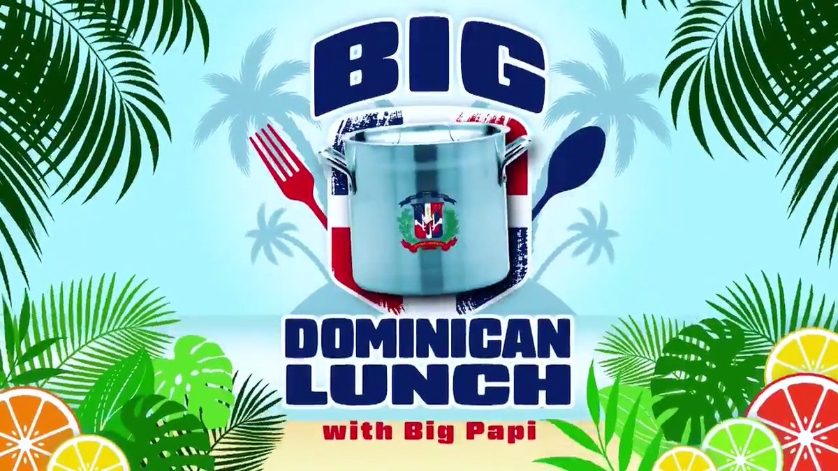 Welcome to Big Dominican Lunch with Big Papi. #SNLAtHome