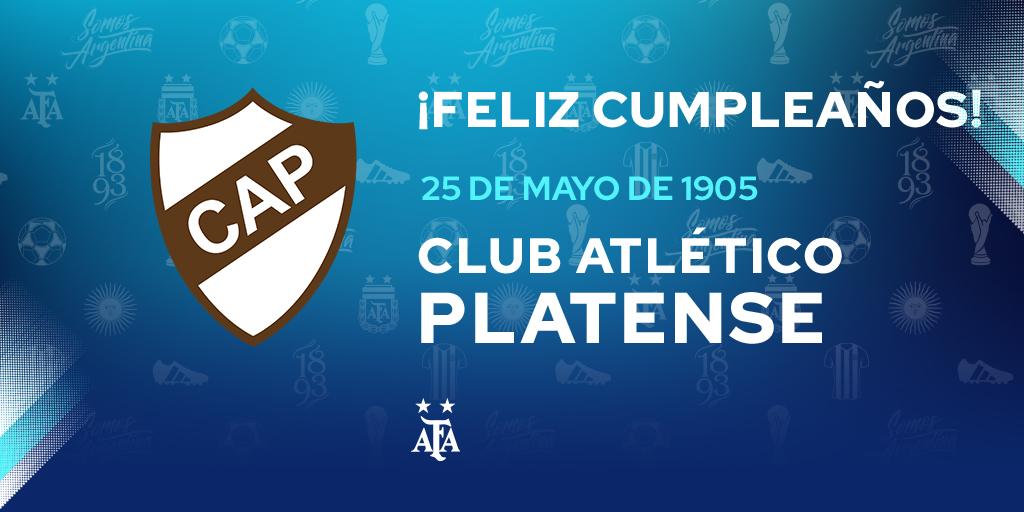 #FelizCumple para @caplatense, que hoy celebra un año más de vida. ¡Felicidades! 🎉🎁
