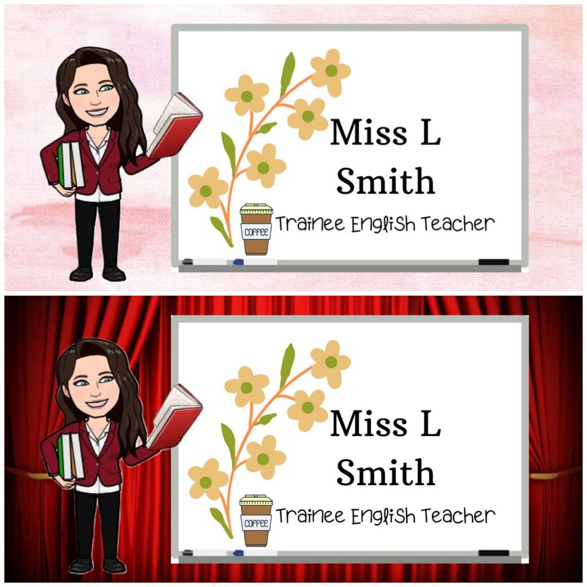 How amazing are these personalised headers @missnormally_ made for me? So incredibly sweet and talented ✨